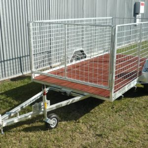Single Axle Trailer Cage