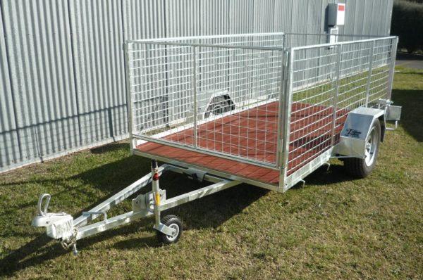 Single Axle Trailer Cage