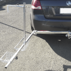 Towbar Wheelchair carrier open